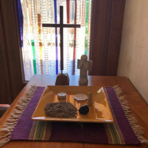Janie Maust's Lenten Devotional Space